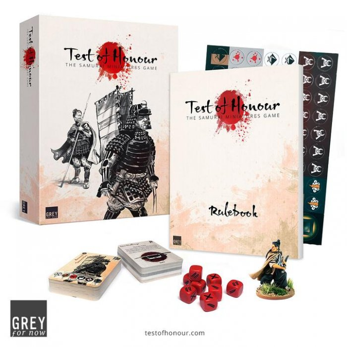 Test of Honour Gaming Set -  Grey for Now