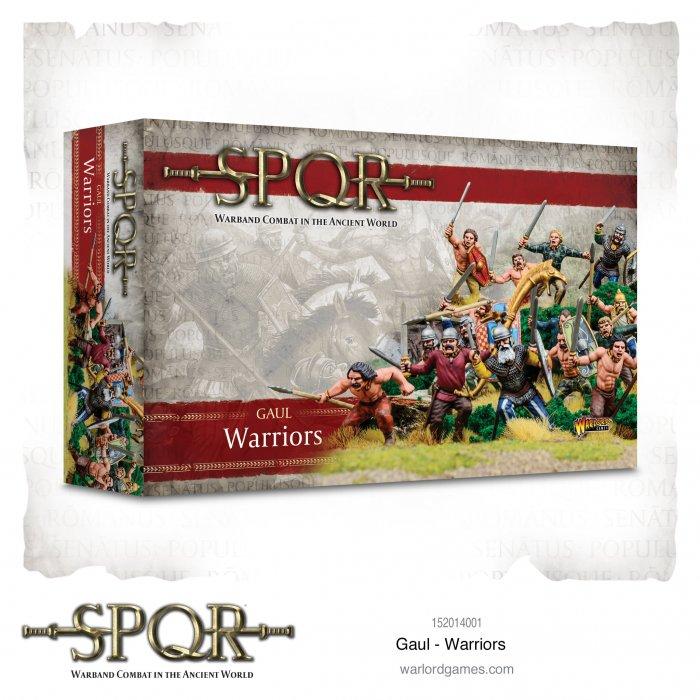 SPQR: Gaul Warriors -  Warlord Games