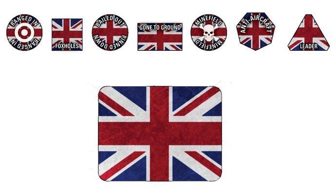 World War III - British Token Set -  Gale Force 9