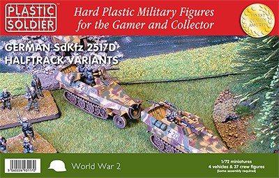 1/72nd 251/D Haltrack Variants