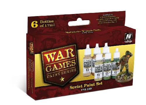 Vallejo WW2 Wargames Soviet Infantry paint set