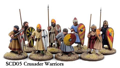 C&C Crusader Sergeants on Foot