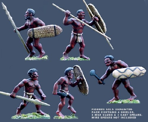 Melanesian Island Warriors 1