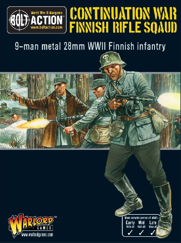 Finnish Infantry boxed set (9 man)