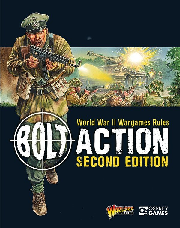 Bolt Action 2nd Edition Rulebook -  Warlord Games