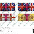 Photo of British 4th Division Infantry Flags (Sheet 1 of 4) (BRC014  )