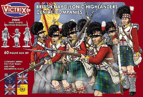 Napoleonic Highland Infantry Centre Companies.