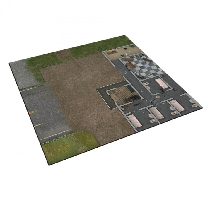 Deluxe Gaming Mat - The Prison