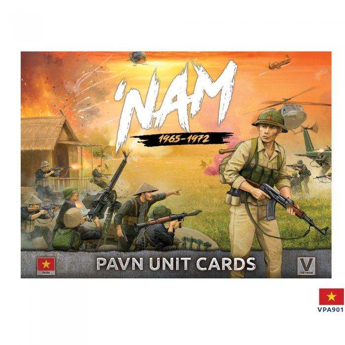 PAVN Forces in Vietnam - Unit Cards