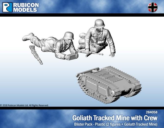 Goliath Tracked Mine with Crew