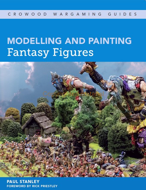 Modelling and Painting Fantasy Figures -  Crowood Publishing