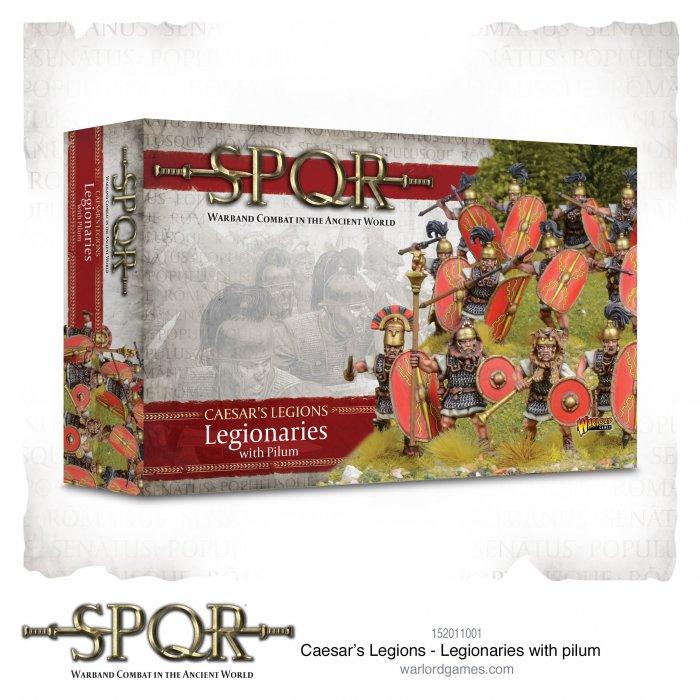 SPQR: Caesars Legions Legionaries with Pilum -  Warlord Games