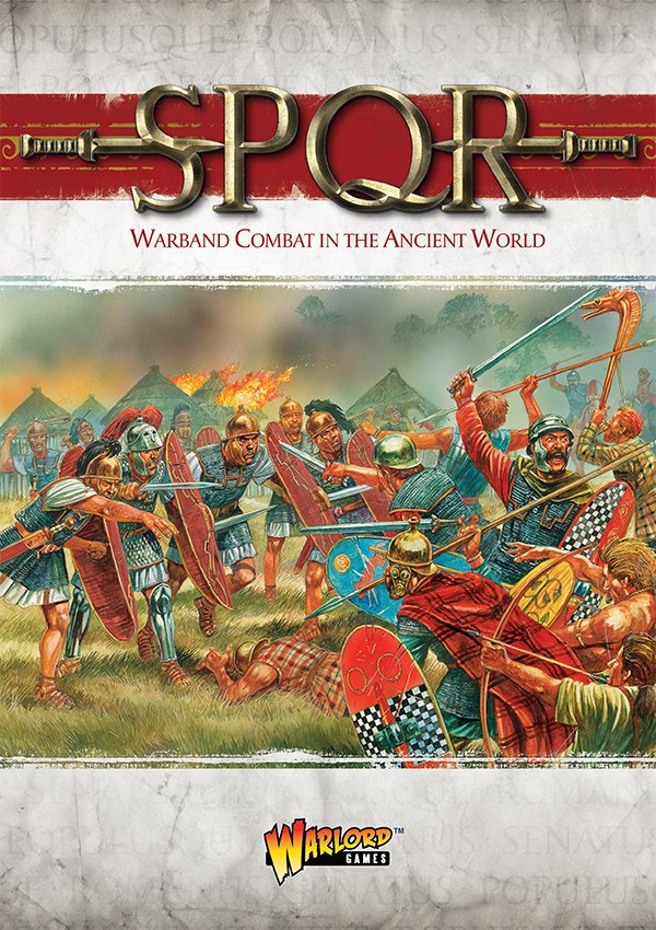 SPQR Rulebook -  Warlord Games