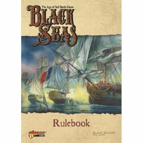 Black Seas Rulebook -  Warlord Games