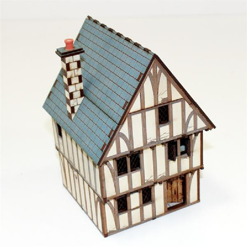 Timber Framed Shop/Dwelling -  4Ground