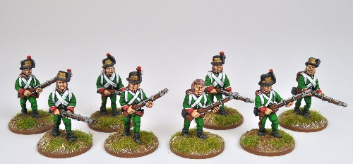 Lombardy Legion advancing