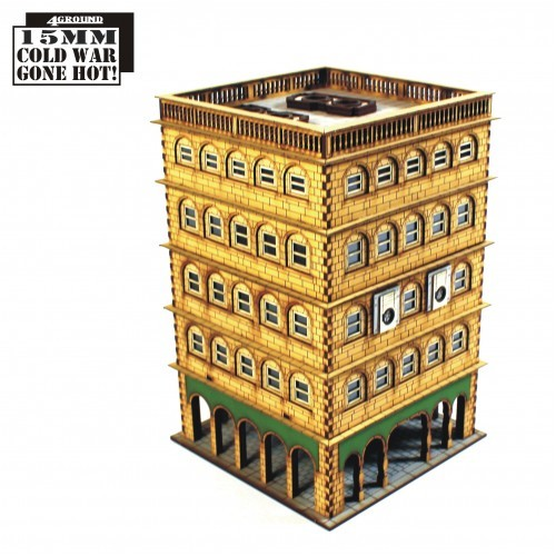 15mm Tenement Block 1