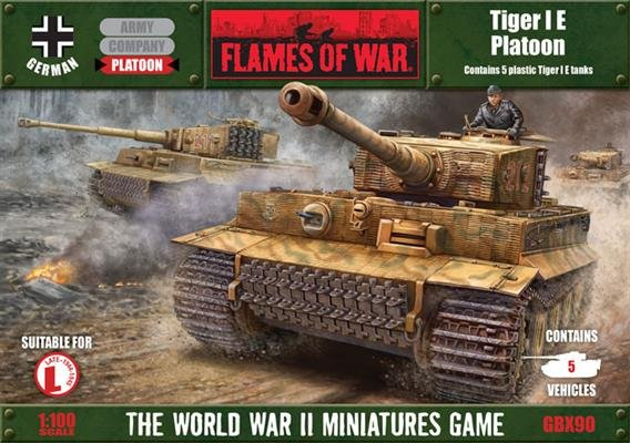 Tiger I E Platoon-Special Limited Edition Set
