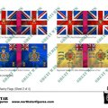 Photo of British 4th Division Infantry Flags (Sheet 2 of 4 (BRC015)