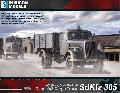 Photo of SdKfz 305 3-Ton 4x2 Cargo Truck - Opal Blitz (RU017)