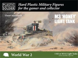 15mm M3 'Honey' Light Tank