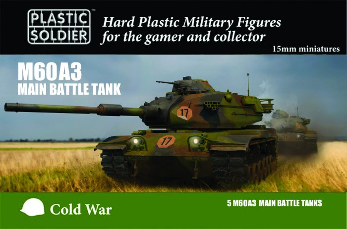 15mm M60A3 Main Battle Tank