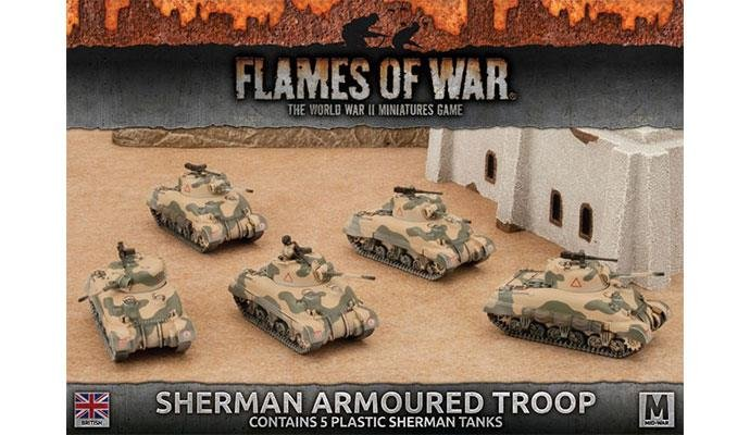 Sherman Armoured Troop