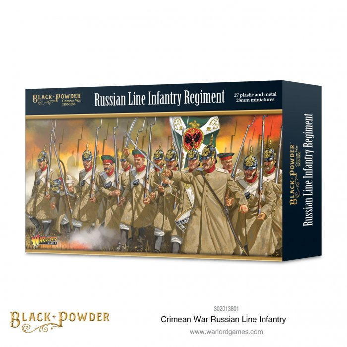 Crimean War Russian Line Infantry -  Warlord Games