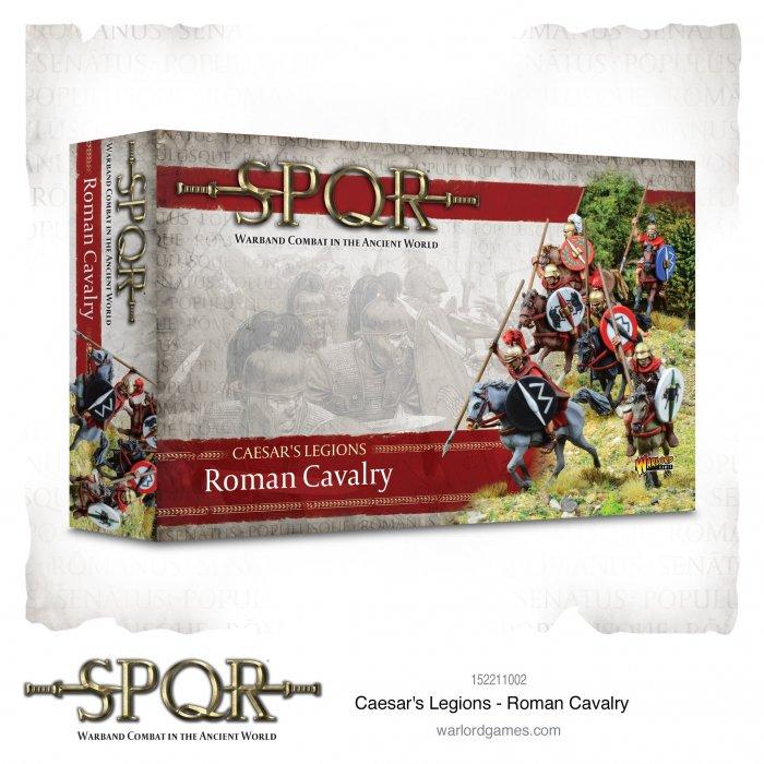SPQR: Caesars Legions Roman Cavalry -  Warlord Games