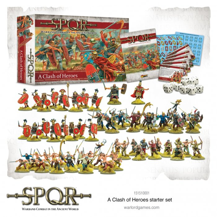 SPQR: A Clash of Heroes Starter Set -  Warlord Games