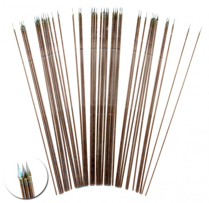 100mm long Wire Spears -  North Star Military Figures