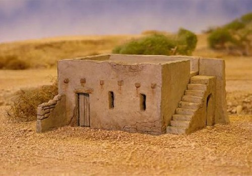 Mudbh mud brick house north star military figures for Mud brick kit homes