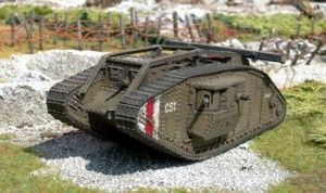 British Mark IV Tank (Male)