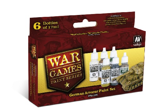 Vallejo WW2 Wargames German Armour paint set
