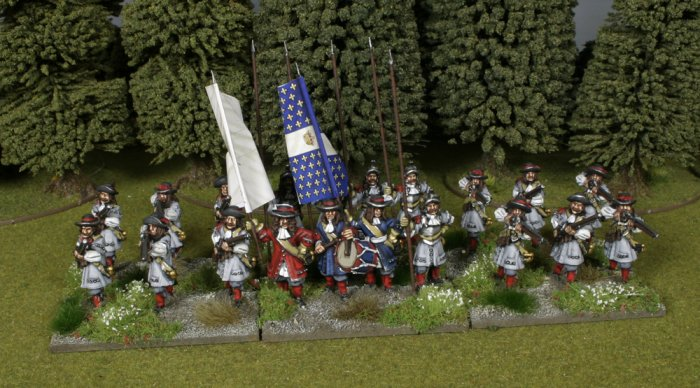 French 1672 Regiment