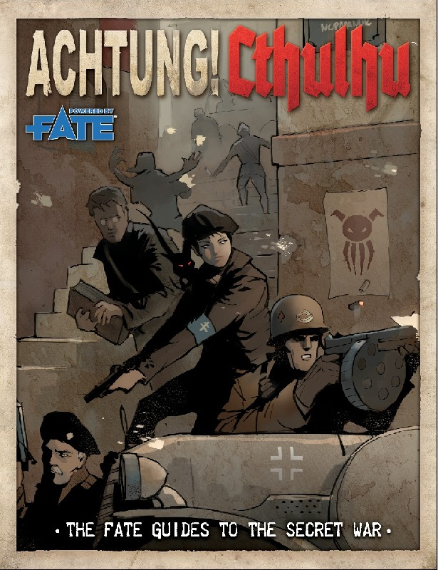 Achtung! Cthulhu The Fate Guides to the Secret War.