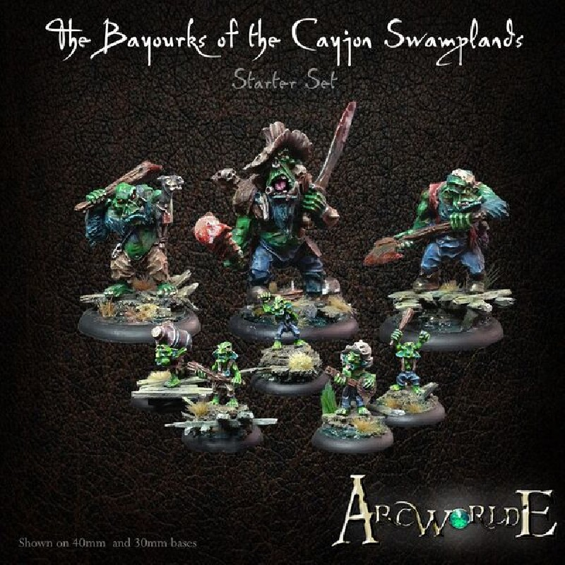The Bayourks of the Cayjon Swamplands Starter Set