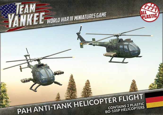 PAH Anti-tank Helicopter Flight