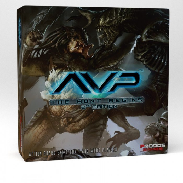 AvP The Hunt Begins Second Edition -  Prodos Games