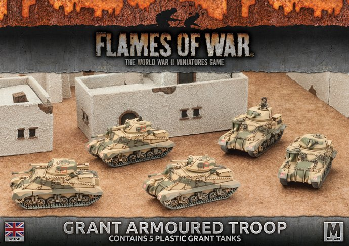 Desert Rats Grant Armoured Troop