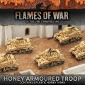 Photo of Desert Rats Honey Armoured Troop (Plastic x 5) (BBX32)
