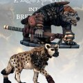 Photo of Gnoll Tracker & War Hyena (FGV218)