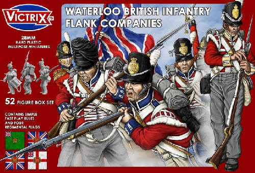 British Waterloo Flank Companies