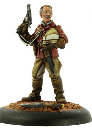 Figurine Allan Quatermain Img12588