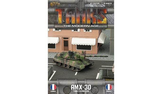 French AMX30/ 155mm SP Tank Expansion
