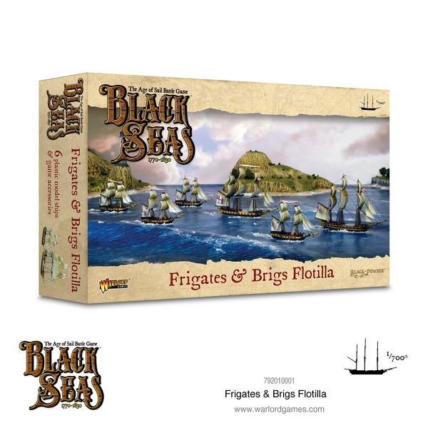 Frigates and Brigs Flotilla (1770-1830) -  Warlord Games