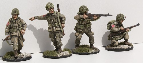 US Paratrooper BAR teams