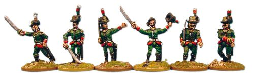 Lombardy Legion officers