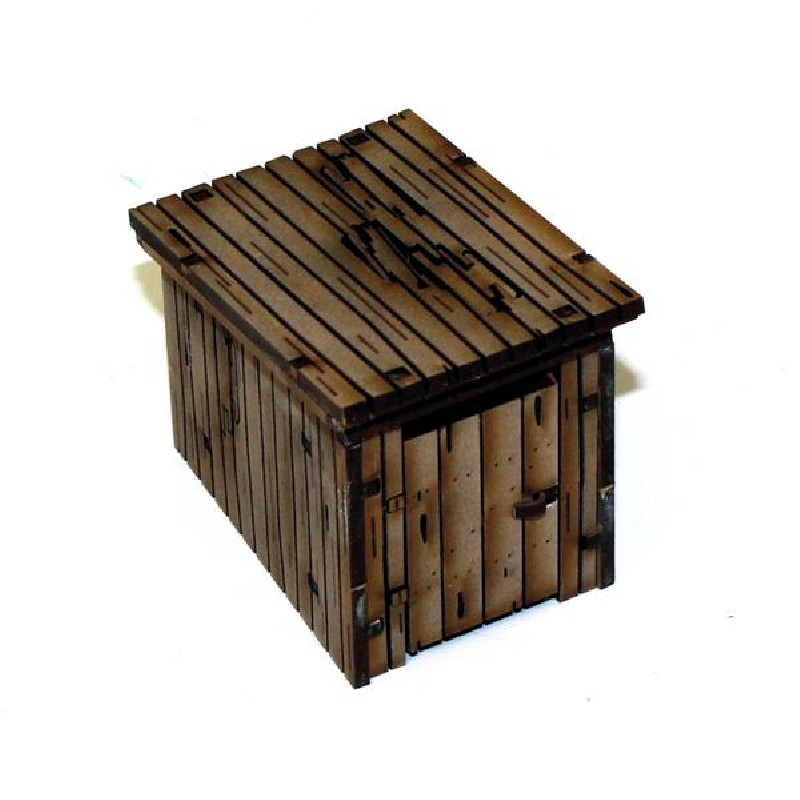 Wooden WC