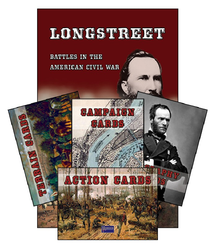 Sam Mustafa: Card Deck for Longstreet